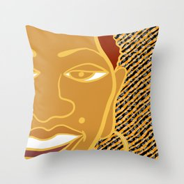 Africa Calls To Me Too Throw Pillow