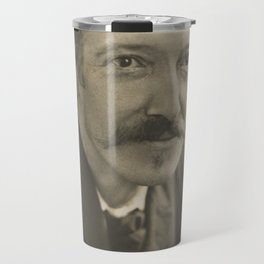 Vintage Robert Louis Stevenson Photo Portrait Travel Mug