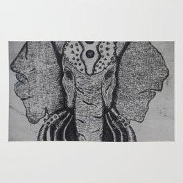 War Elephant Rug