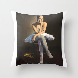 The Five Minute Break Throw Pillow