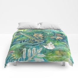 Emerald Wisdom Comforters