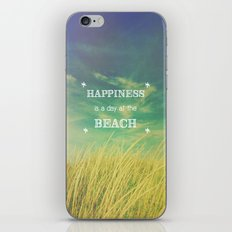 Happiness is a Day at the Beach iPhone & iPod Skin
