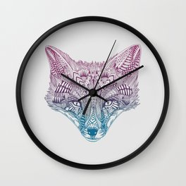 Fox (Clever) Wall Clock