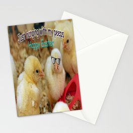 Just Hanging with my Peeps Stationery Cards
