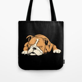 English Bulldog | Dog Lover Tote Bag