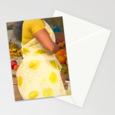 Torso at Fruit Stand, Chennai Stationery Cards