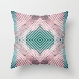 Sky Tile Throw Pillow