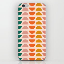 Retro 70s Geometrics iPhone Skin