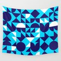 geometric blue by mtie