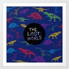 THE LOST WORLD Art Print