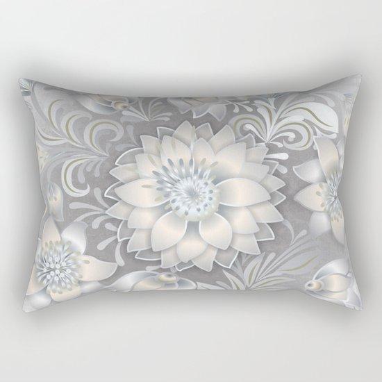 Shabby flowers #2 Rectangular Pillow