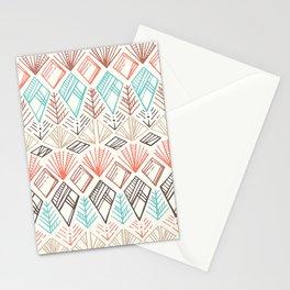 Boho Ethnic Pattern Stationery Cards