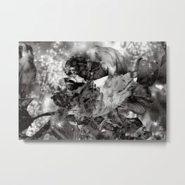 ORIENTAL SOUND of GREY Metal Print