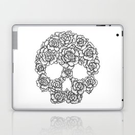 Skull of Roses Laptop & iPad Skin