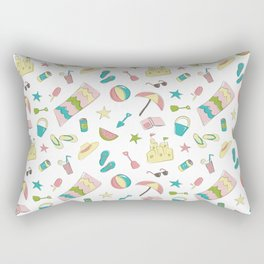 Summer Fun Rectangular Pillow