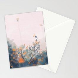 Orange Blooms Stationery Cards