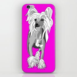 Sassy Chinese Crested iPhone Skin