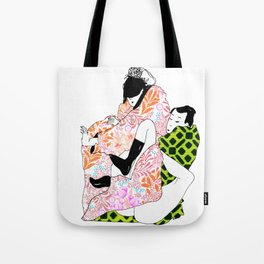 Bodies in boxes Tote Bag