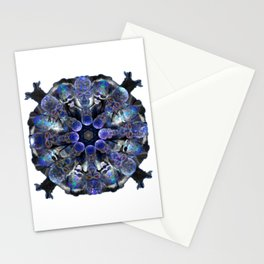 Circle Of Skulls Stationery Cards