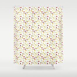 vegetable pattern Shower Curtain