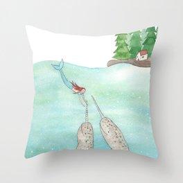 Secret world Throw Pillow