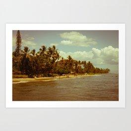 Vintage Maui 2 Art Print