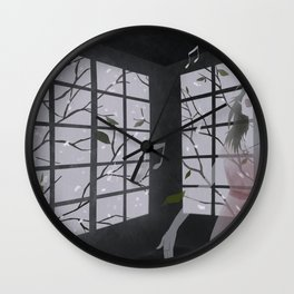 raise your voice Wall Clock
