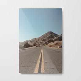 Mountain Road Metal Print