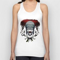 pennywise Tank Tops featuring Pennywise by John Medbury (LAZY J Studios)