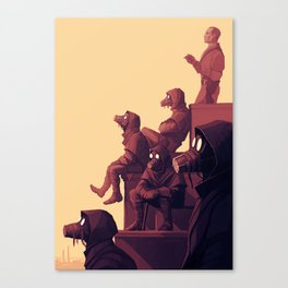 The Whalers Canvas Print