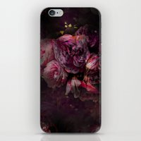 peony iPhone & iPod Skins featuring peony by MINTSENSEART