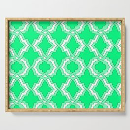 Grille No. 1 -- Seafoam Serving Tray