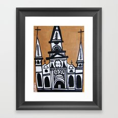 I Heart St. Louis Cathedral  Framed Art Print
