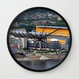 Pittsburgh Stadium Wall Clock