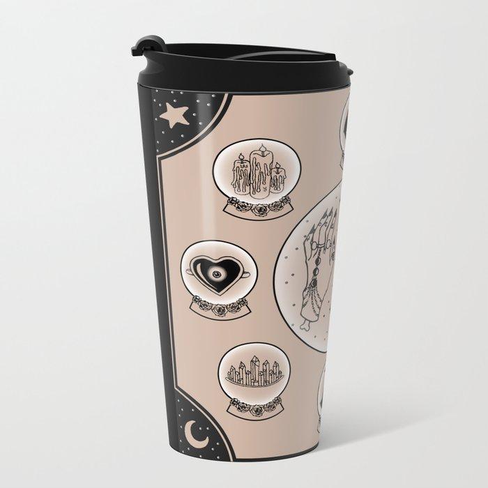 Witch Accessories Metal Travel Mug