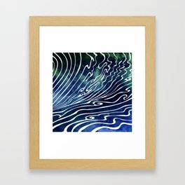 Wine Dark Framed Art Print