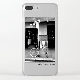 NOGO:ARTWORK STUDIO #123 Clear iPhone Case