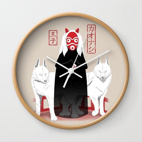 Ouji Kaonashi Wall Clock