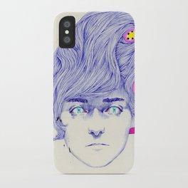 Hair Play 08 iPhone Case