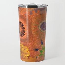 Evolving Truth Flowers  ID:16165-093100-83380 Travel Mug