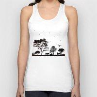 safari Tank Tops featuring Safari by Kaitlynn Marie