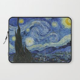 The Starry Night by Vincent van Gogh Laptop Sleeve