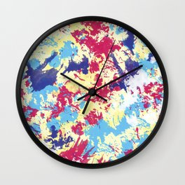 Abstract IV Wall Clock