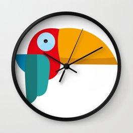 parrot love Wall Clock