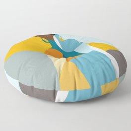 Bantu Woman Floor Pillow