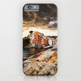 riomaggiore village iPhone Case