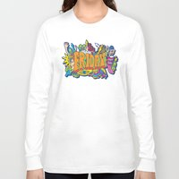 friday Long Sleeve T-shirts featuring Friday by Roberlan Borges