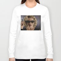 river song Long Sleeve T-shirts featuring River Song (Doctor Who) by San Fernandez