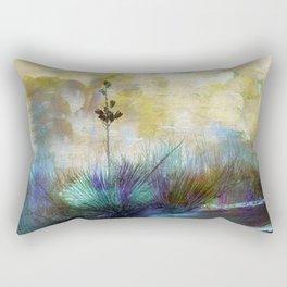 Painted Desertscape Rectangular Pillow