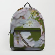 Cherry Blossoms and Bee Backpack